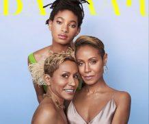 Джада Пинкетт-Смит снялась для обложки журнала с мамой и дочерью