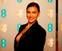 Брэдли Купер благодарит Ирину Шейк на BAFTA