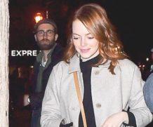 Эмма Стоун на свидании с Дэйвом Маккари в Нью-Йорке