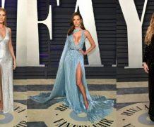 Лучшие образы, пары и шокирующие наряды на вечеринке Vanity Fair